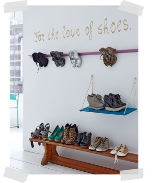 10 Shoe Storage Ideas For Small Spaces