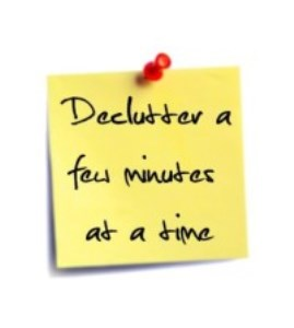 Seven Tips for Organizing a Decluttering Plan